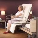 Lit médicalisé rotatif Rotoflex basic plus et relève pieds