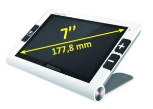 DMLA : loupe electronique portable