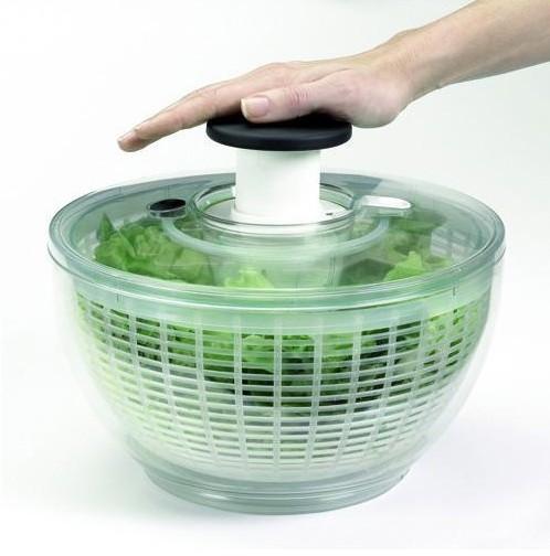 Aides techniques hémiplégie : essoreuse a salade Oxo