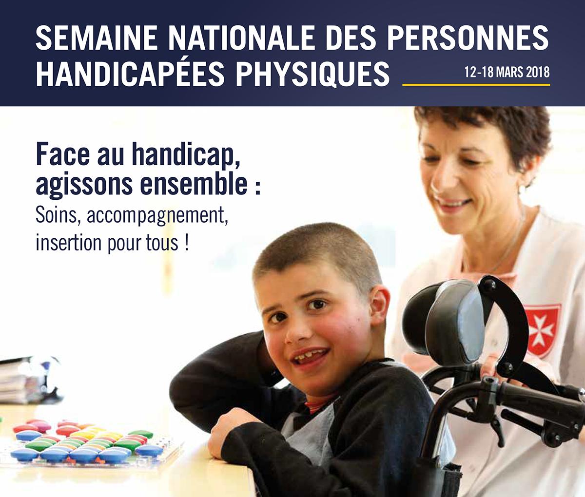 Semaine nationale des personnes handicapées physiques