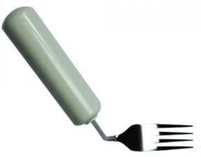 fourchette coudee pour droitier queens