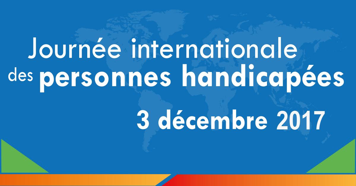 Journée internationale des personnes handicapées 3 décembre
