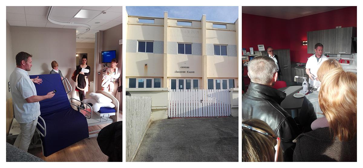 Photos de l'inauguration de l'appartement témoin - Dom'Hopale - Centre Jacques Calvé