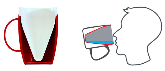 gobelet ergonomique Ornamin