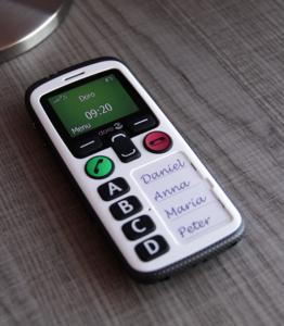 Téléphone portable senior Doro Secure 580