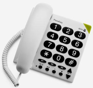 Téléphone senior à grosses touches Phone Easy 311c
