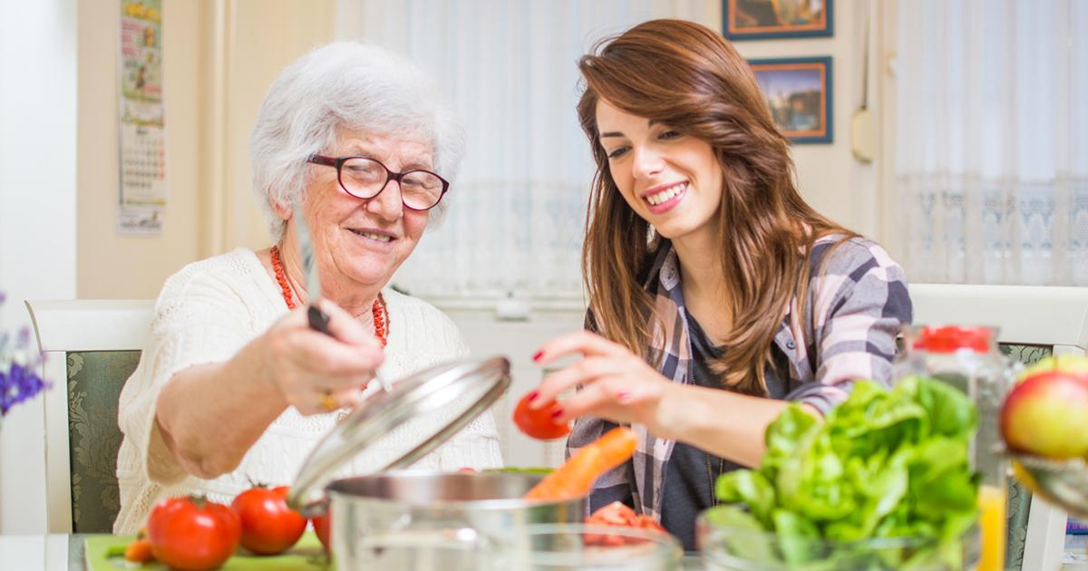 Alimentation et Alzheimer : repas