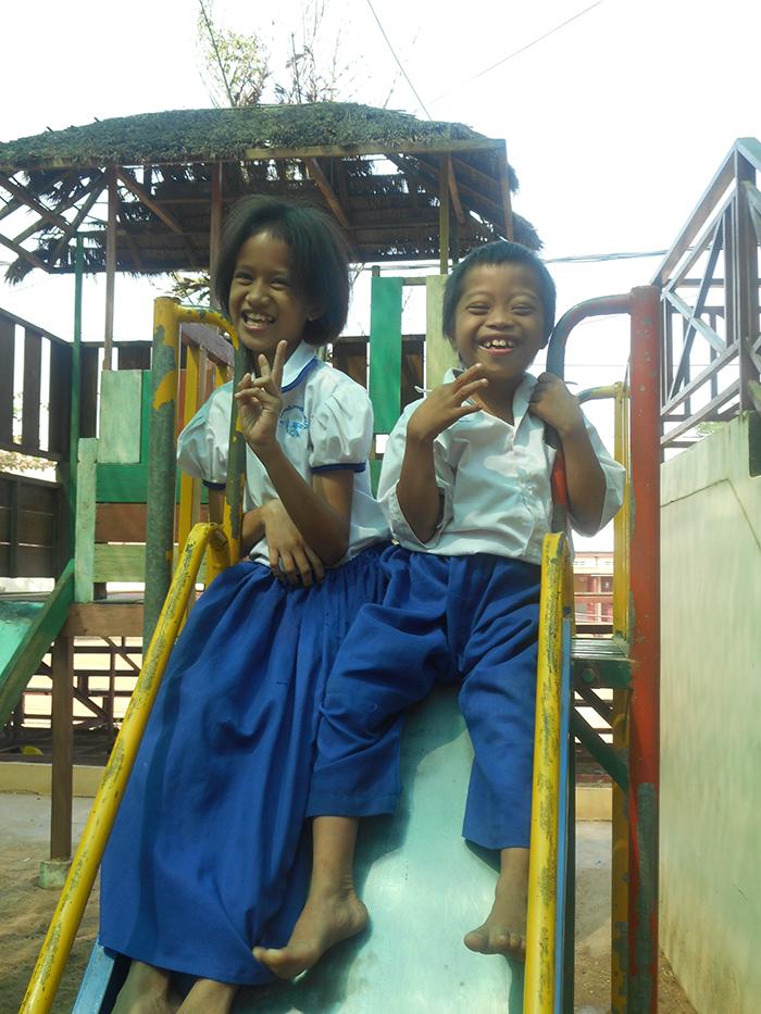 Deux enfants Cambodgiens