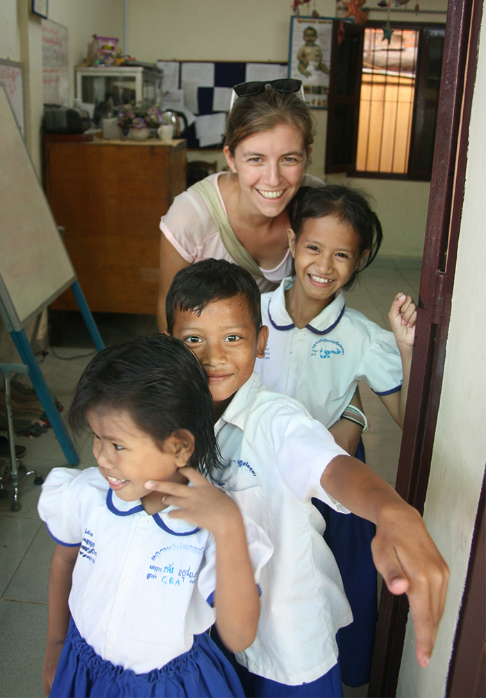 Les enfants Cambodgiens