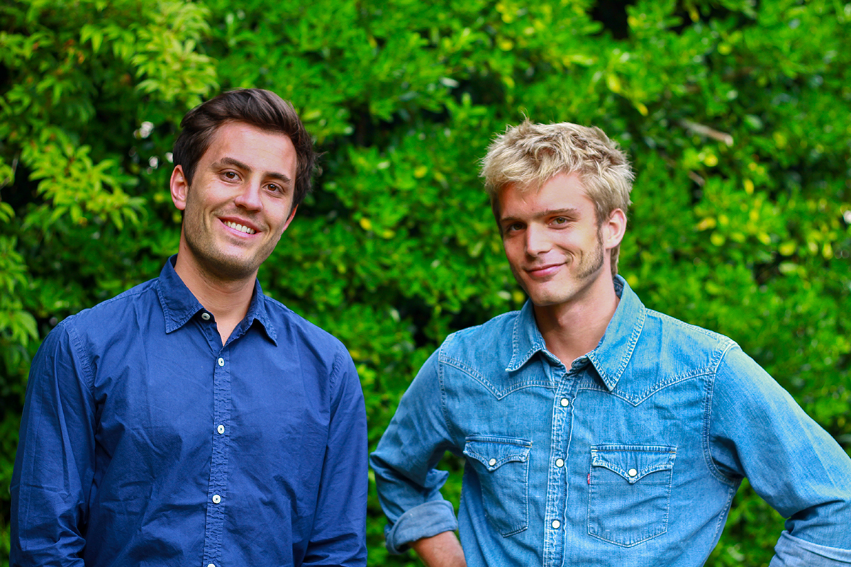Thibault & Barthelemy, les fondateurs de la plateforme Les talents d'Alphonse