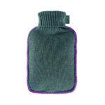 Bouillotte à eau - Housse tricot