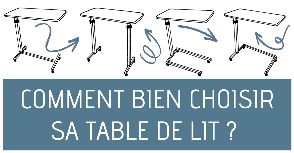 Comment choisir sa table de lit?