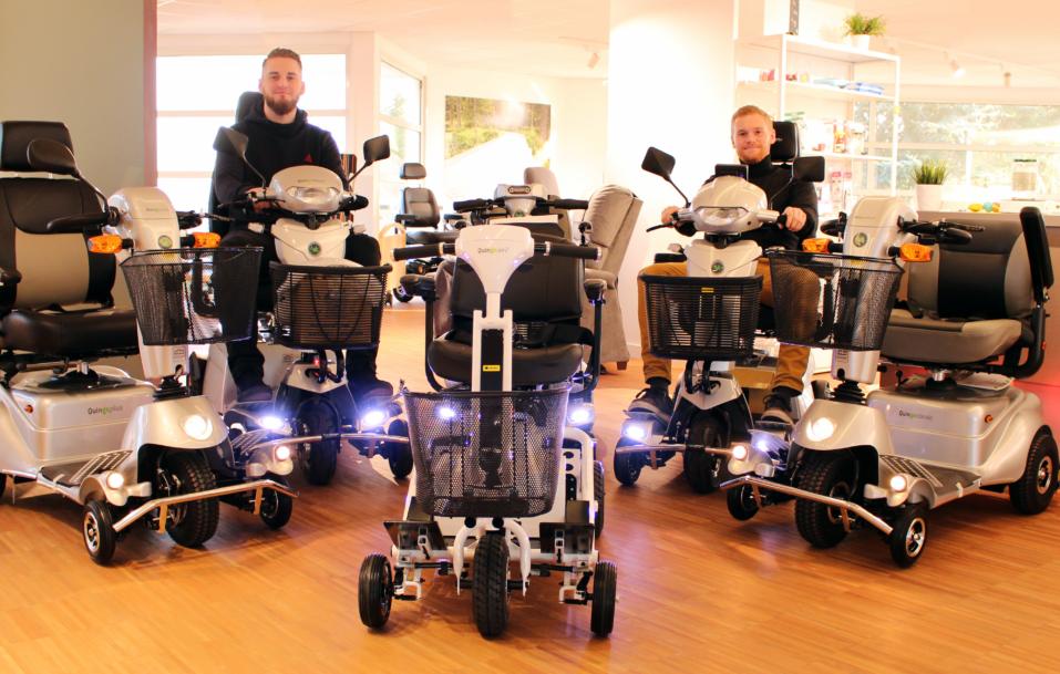 Scooters Quingo 5 roues