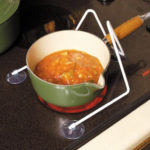 Support bloquant de poignée de casserole