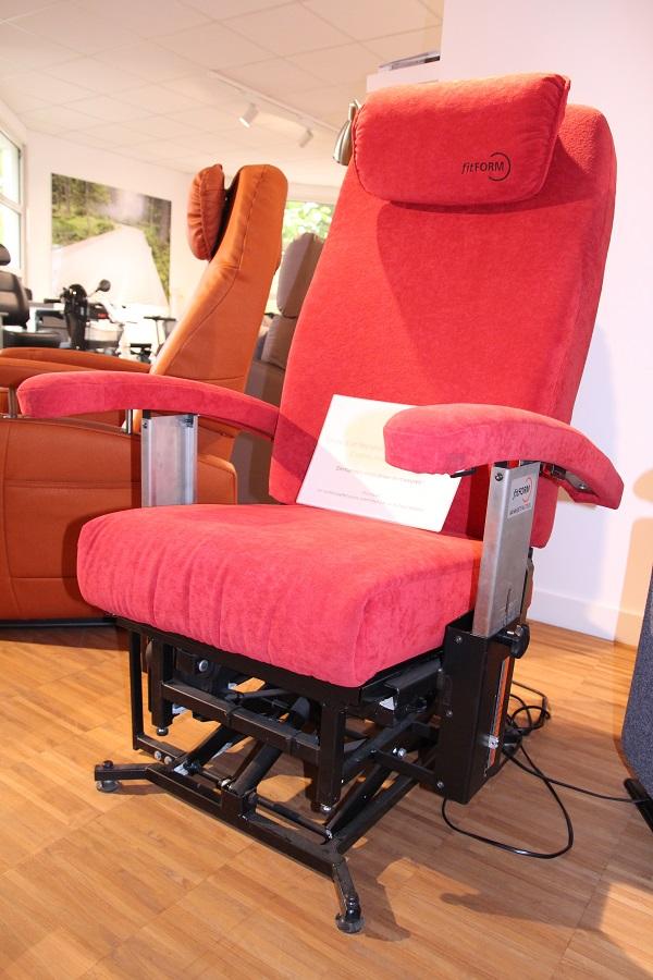 chaise de prise de dimensions