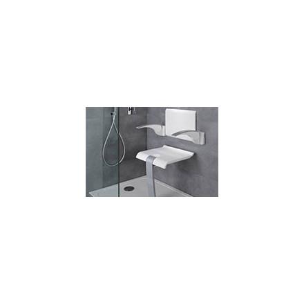 Siège de douche avec dossier, accoudoirs - Siege handicape