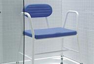 Chaise de douche bariatrique