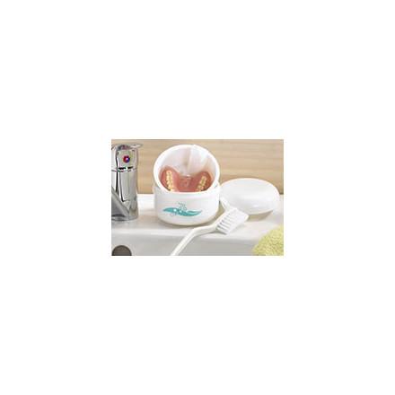Hygiène dentaire - Nettoyant appareil dentaire et boite à dentier