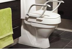 Réhausseur wc et cadre de toilettes