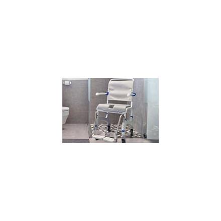 Chaise de douche à roulettes - Chaise douche handicapé