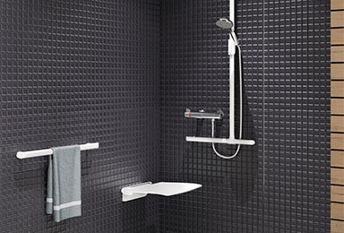 Barre d'appui salle de bain